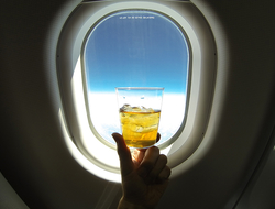 airplane drink