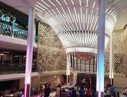 Celebrity Edge Atrium Grand Plaza Editorial Use Only Photo by Susan J Young