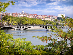 Rhone River, Lyon, France // Photo by Davizro/iStock/Getty Images Plus/Getty Images