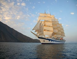 Star Clippers cruise ship in water