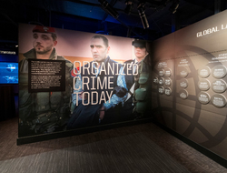 Las Vegas Mob Museum Organized Crime Today Exhibition