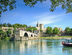 Avignon Rhone River France