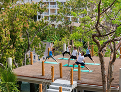 Deck Yoga at BodyHoliday Saint Lucia