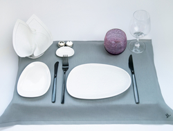 Image of tableware for Air Italy Business Class