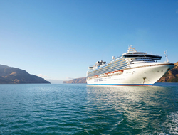 Exterior shot of the Diamond Princess