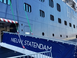 Holland America Nieuw Statendam Photo by Susan J Young Editorial Use Only