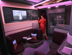 Virgin Atlantic Airbus A350 Loft