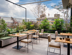 Umbral, Curio Collection by Hilton Rooftop bar