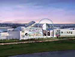 Image of new entertainment and retail center