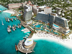 Margaritaville at The Pointe, which is currently under construction, is slated to open in phases in mid-2019.