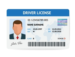 drivers license concept
