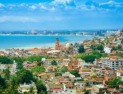 A high view over Puerto Vallarta Bay