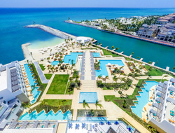Overhead view of TRS Cap Cana Hotel