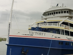 Victory I Victory Cruise Lines Photo by Susan J Young Editorial Use Only