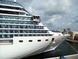 Costa Deliziosa docked in Port Everglades