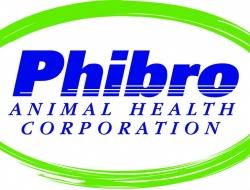 phibro logo consisting of the words phibro animal health corporation circled