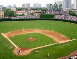 Wrigley Field in Chicago