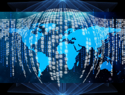 Global data network. Image: Pixabay