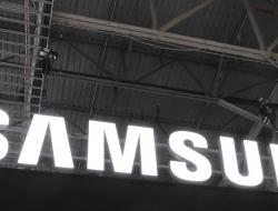Samsung sign at ctia
