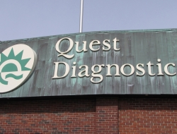 Quest Diagnostics sign