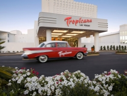 Exterior of Tropicana Las Vegas Editorial