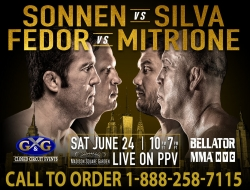 Bellator 180: Chael vs Sivla
