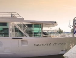 Emerald Waterway's Newest Ship Destiny Editorial Only