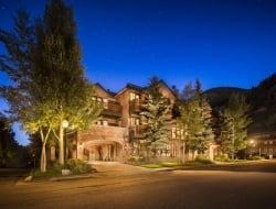 Hotel Telluride Exterior Summer Night