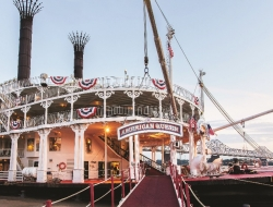 American Queen cruise Editorial Use Only Photo by American Queen Steamboat Company