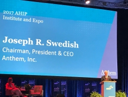 Joseph Swedish speaking at AHIP