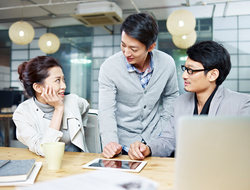 Hong Kong office workers rate technology and private working spaces as top priorities (Image imtmphoto / iStockPhoto
