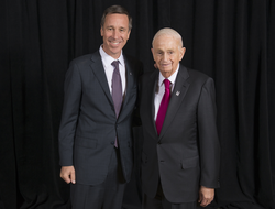 Bill Marriott and Arne Sorenson