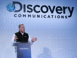 Discovery Communications CEO David Zaslav speaks at Investor Day 2015