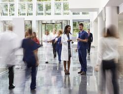 Hospital lobby