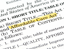 Affordable Care Act highlighted