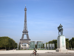 Despite France's high threat level, hotel stays reached 107.1 million.