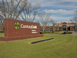 corporate sign outside of an office park