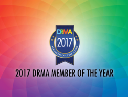 DRMA badge