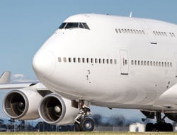 Boeing 747 Airplane