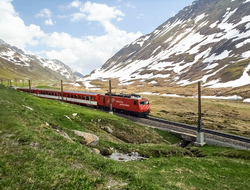 Matterhorn Gotthard train Switzerland