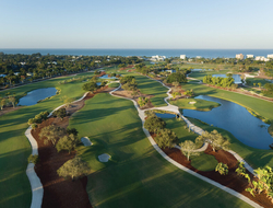 Golf course at Naples Beach Hotel