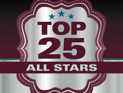 Top 25 All Stars Logo