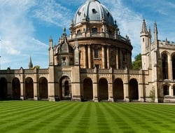 All Souls Quad at the University of Oxford