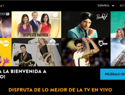 Screenshot of Sling TV Puerto Rico