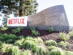 Netflix sign Los Gatos