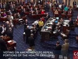 John McCain's vote on skinny repeal bill