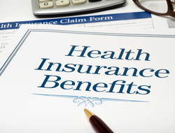 Health insurance benefits form