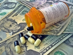 Prescription Drugs and Money image