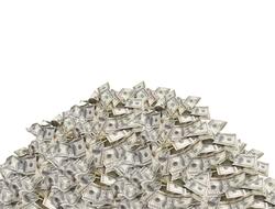 Money pile