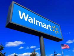 Walmart sign
